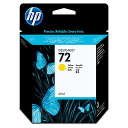 HP 72 G Ink Cartridge 69 ml - Yellow